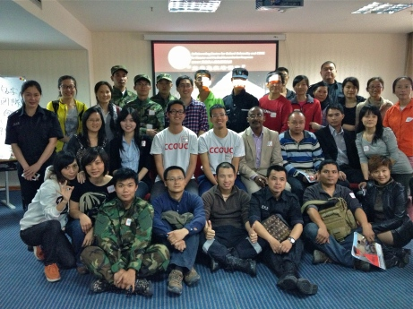 201304 Photo of Disaster Fist Aid Training of Trainer