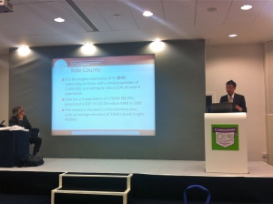 Prof. Kevin Hung Presenting at WCDEM